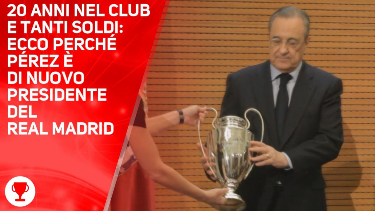 Florentino Pérez, è lui il re del Real Madrid